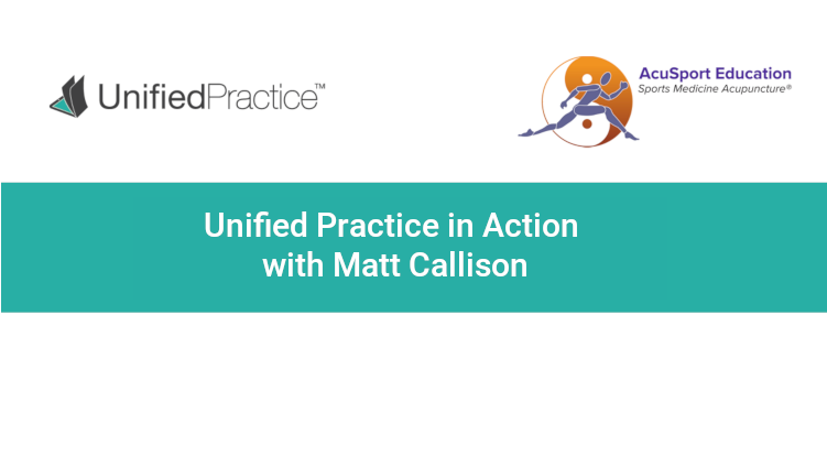 Unified Practice in Action with Matt Callison - TCM Charting